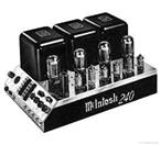 MCINTOSH Amplifier/Tube Amp MC240